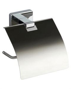 Держатель для туалетной бумаги STYLE с крышкой Fora