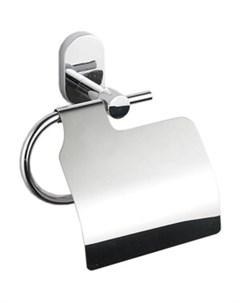 Держатель для туалетной бумаги BRASS с крышкой Fora