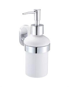 Дозатор для жидкого мыла BRASS керамический Fora