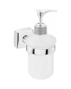 Дозатор для жидкого мыла Keiz стеклянный матовый настенный Fora
