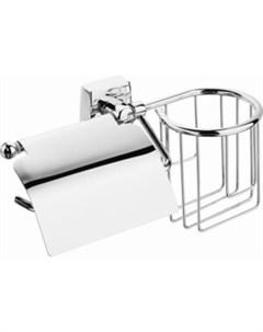 Держатель для туалетной бумаги Keiz с полкой для освежителя воздуха Fora