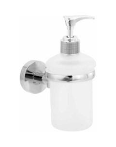 Дозатор для жидкого мыла Long стеклянный настенный Fora