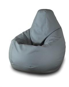 Кресло мешок Груша Бмэ3 серый Пазитифчик