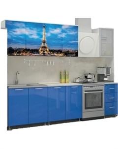 Кухня ПВХ с фотопечатью Париж 2 0 Миф