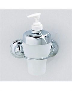 Дозатор для жидкого мыла на 2 присосках 7 9x11x10см 10224 Everloc