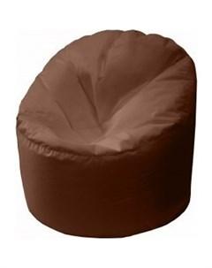 Кресло мешок Бмо15 коричневый Пазитифчик