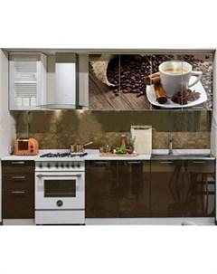 Кухня ПВХ с фотопечатью Кофе 2 0 Миф