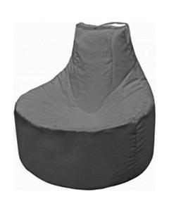 Кресло мешок Бмо12 серый Пазитифчик