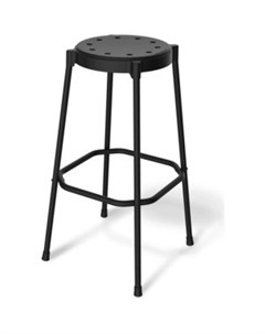 Барный стул SHT S48 черный черный муар Sheffilton
