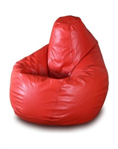 Кресло мешок Груша Бмэ1 красный Пазитифчик