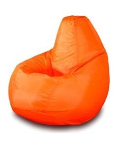 Кресло мешок Груша Бмо2 оранжевый Пазитифчик