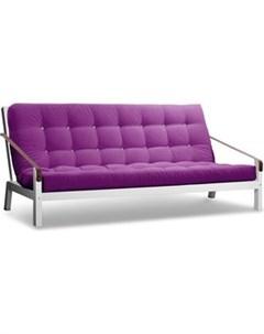 Диван Локи эмаль фиолетовый вельвет Anderson