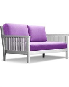 Диван Норман эмаль фиолетовая рогожка Anderson