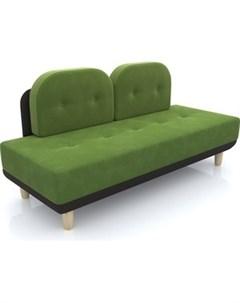 Диван Торли зеленый вельвет Anderson