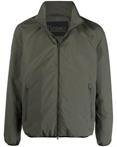 Куртка на молнии с высоким воротником Herno