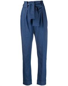 Зауженные брюки Sara s с поясом Sara battaglia
