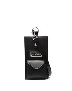 Мини сумка с логотипом Les hommes