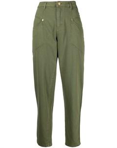 Укороченные зауженные брюки Ermanno ermanno