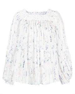 Блузка с цветочным принтом Ermanno ermanno