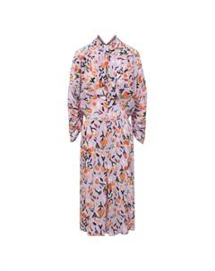 Шелковое платье Marni