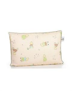 Подушка детская Наша Умничка лебяжий пух 40х60 см Belashoff kids