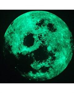 Декоративная наклейка ночник Луна и звезды Freeze light