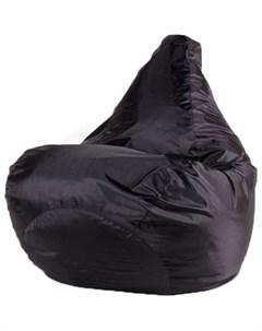 Кресло мешок Черное Оксфорд L 80х75 Dreambag
