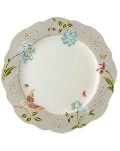 Тарелка обеденная Heritage 24 5см Cobblestone Uni Laura ashley