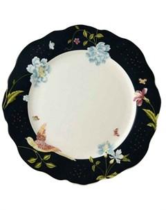 Тарелка обеденная Heritage 24 5см Midnight Uni Laura ashley