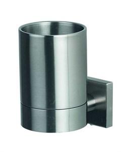 Стакан для зубных щеток с держателем Nyo сталь Spirella