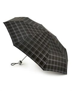 Зонт женский купол 96см черный Fulton