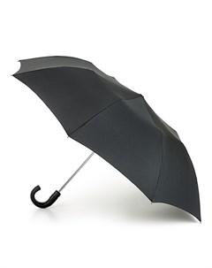 Зонт мужской полуавтомат купол 95см черный Fulton