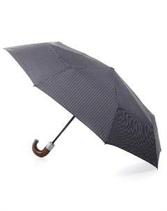 Зонт мужской купол 98см серый Fulton