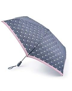 Зонт женский автомат Сердечки Fulton