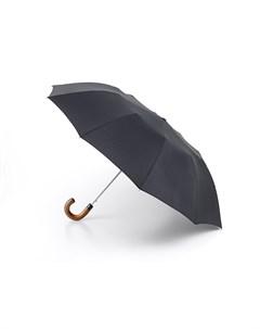 Зонт мужской купол 104см черный Fulton