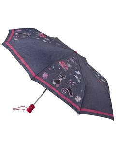 Зонт женский купол 98см синий Fulton