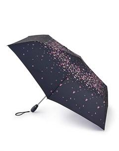 Зонт женский автомат Анютины глазки Fulton