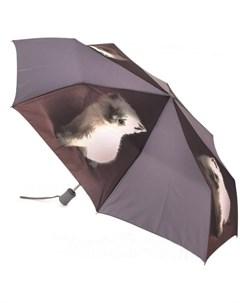 Зонт женский купол см серый Fulton