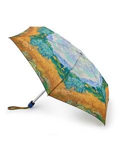 Зонт женский механика Пшеничное поле Ван Гог Fulton