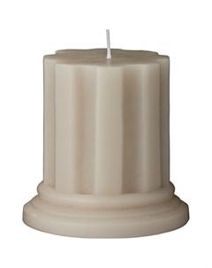 Свеча Colinne 9x9 5см цвет серый Lene bjerre