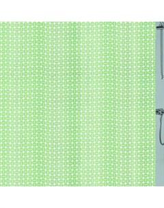 Шторка для ванной Dots Green 180x200 см PEVA Kleine wolke