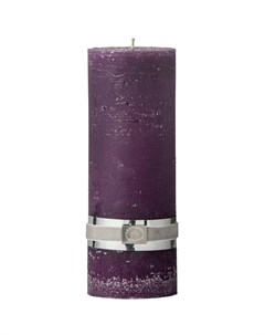 Свеча Rustic 20x7 5см цвет фиолетовый Lene bjerre