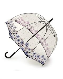 Зонт женский купол 84см синий Fulton