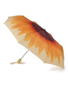 Зонт женский купол 98см оранжевый Fulton