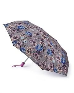 Зонт женский купол 99см серый Fulton