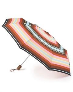 Зонт женский RodeoStripe купол 98см многоцветие Fulton