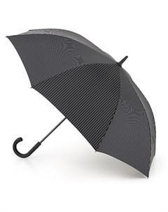 Зонт трость мужской купол 116см черный Fulton