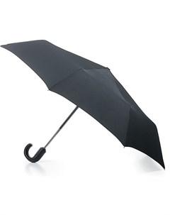 Зонт мужской автомат купол 100см черный Fulton
