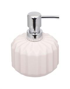 Дозатор для жидкого мыла цвет розовый Hausmann