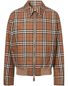 Куртка Harrington в клетку Burberry